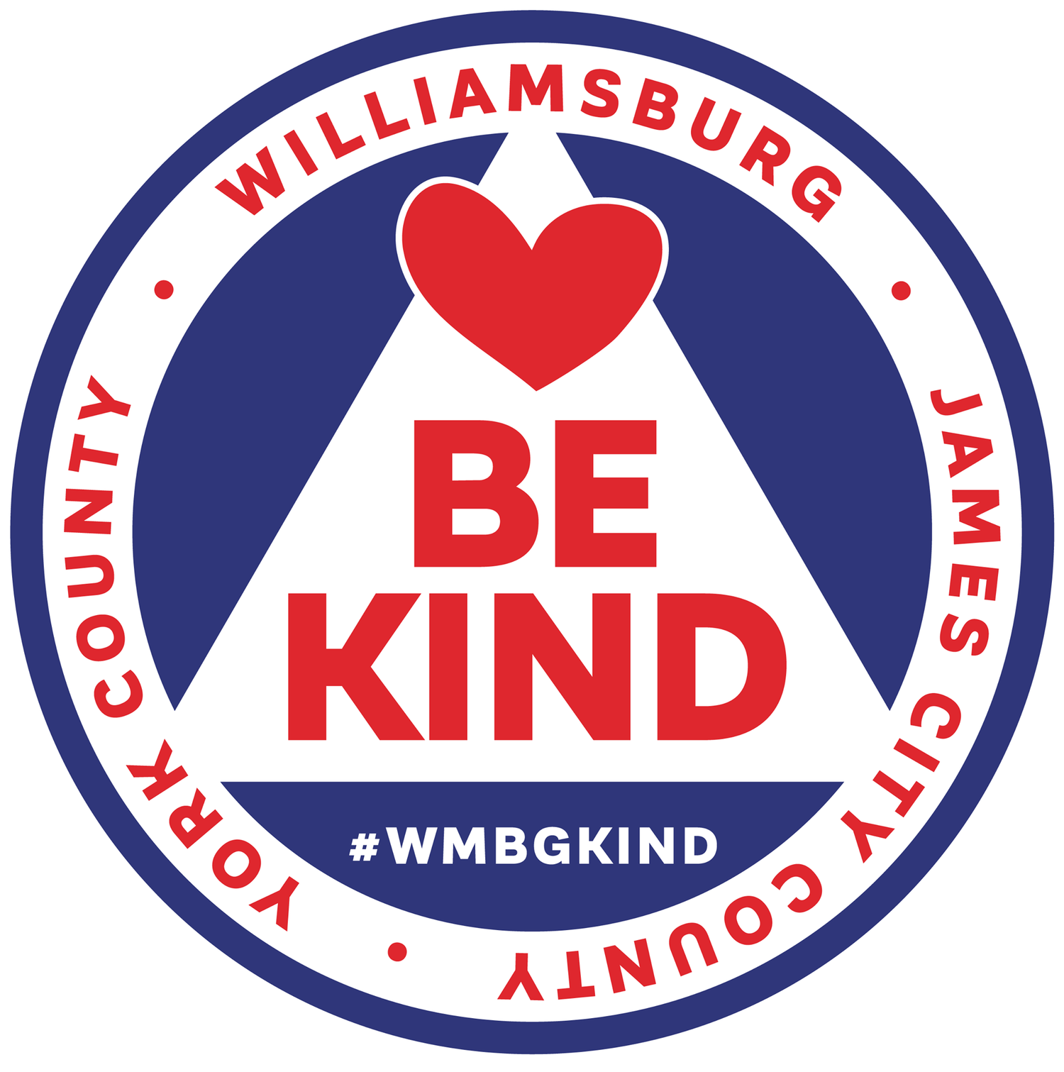 City of Kindness | WMBGkind I Be Kind | Williamsburg, Virginia