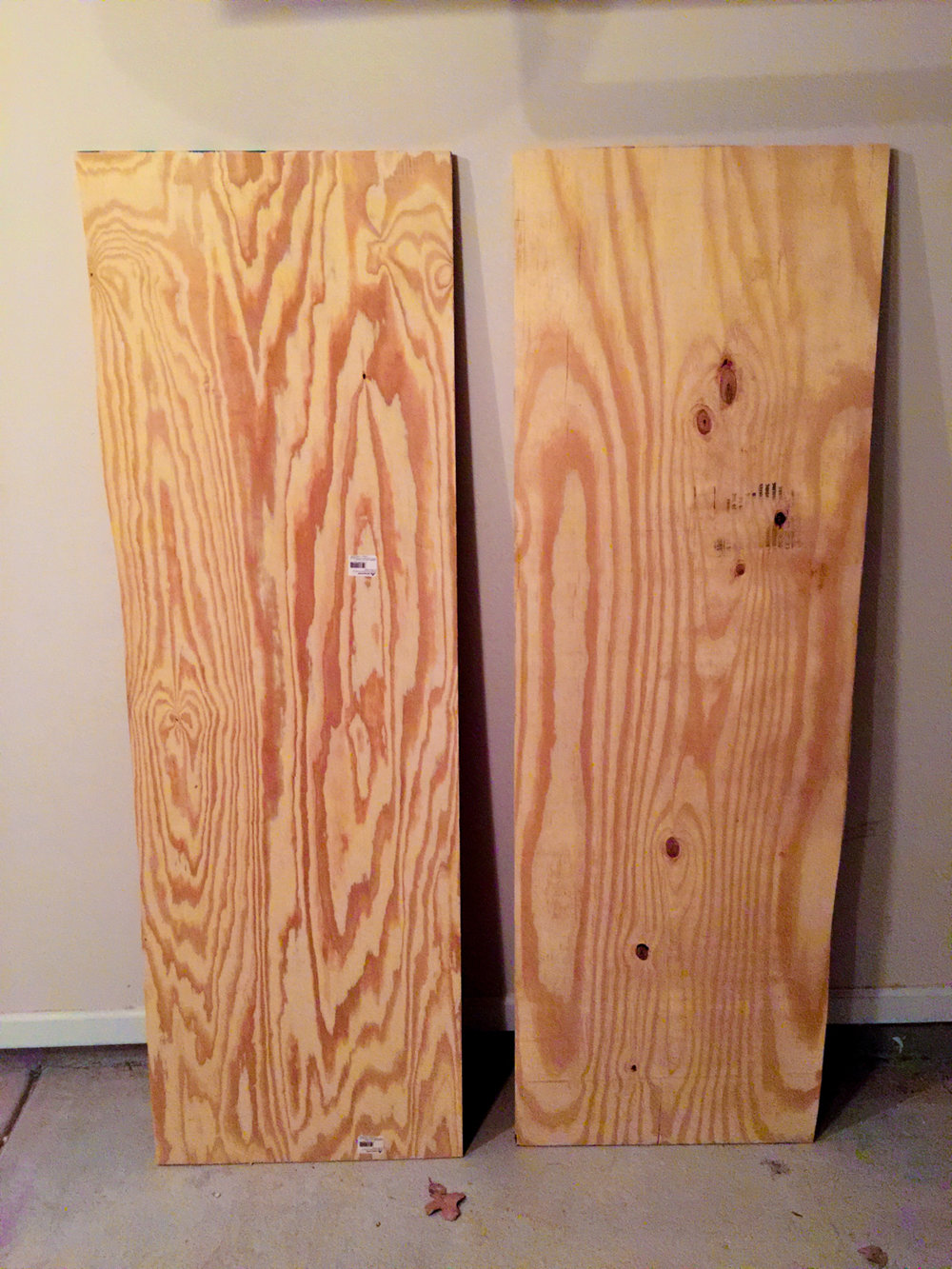 First Workbench - Rough Cut Plywood