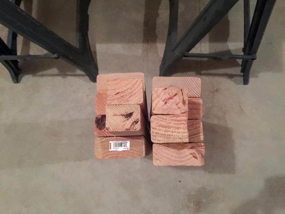 First Workbench - Leg Joinery 2
