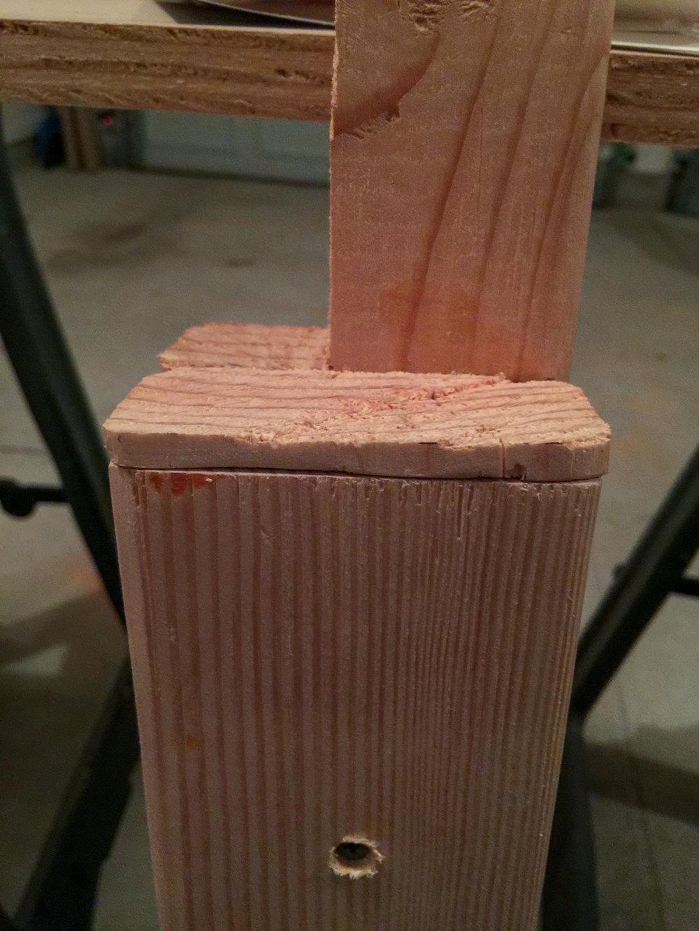 First Workbench - Leg Shim