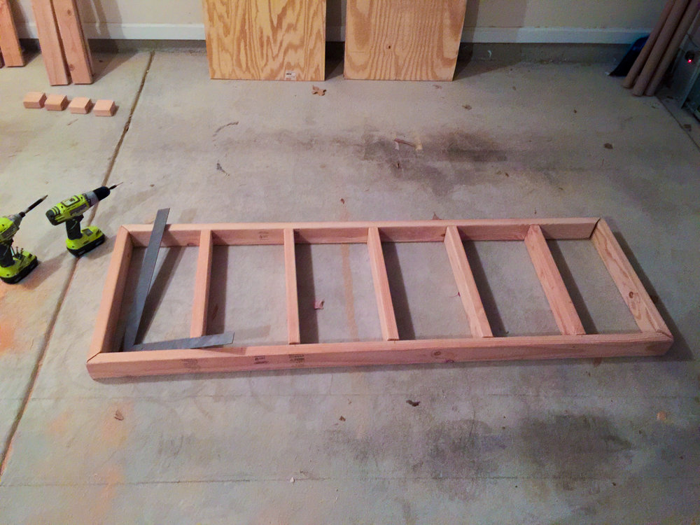 First Workbench - Upper Frame