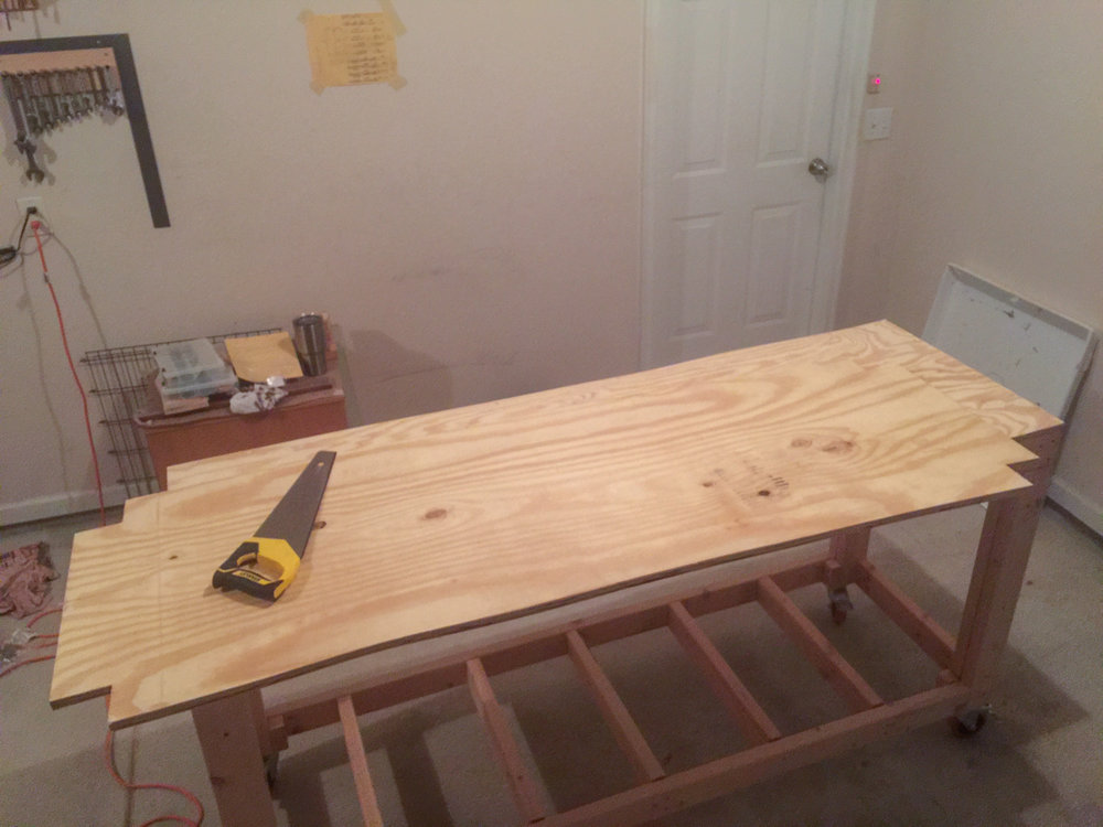 First Workbench - Lower Ply Notches