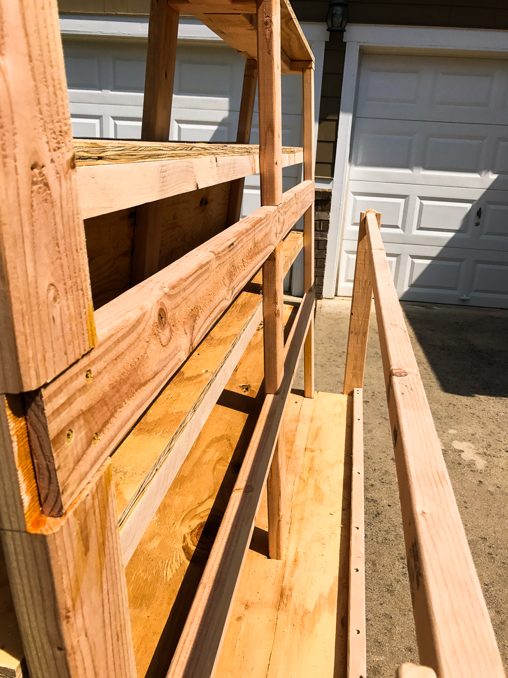 Lumber Cart - Ply Side Close Up