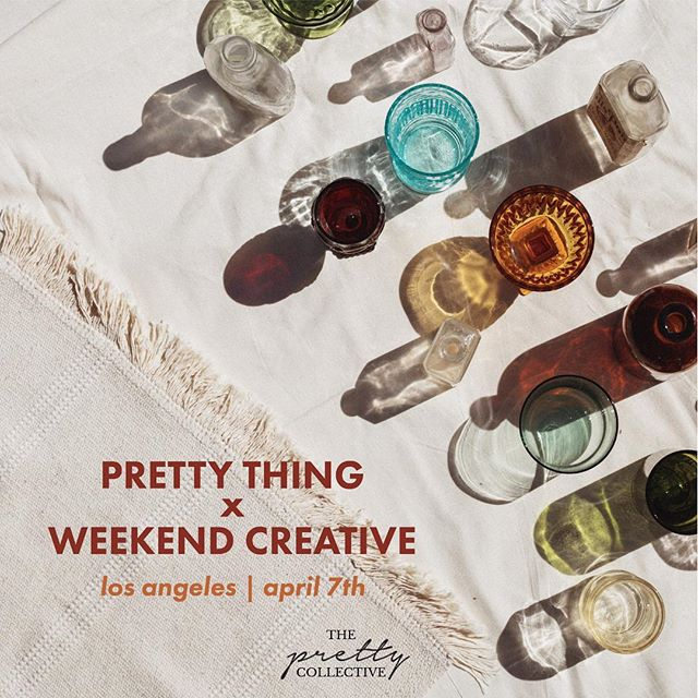 we've been obsessed with @weekend.creative since we first stumbled upon their insanely gorgeous IG page. i don't know who found who, but we're now internet besties turned IRL besties bc we're teaming up with Elle and Arabela to host a 3-hour intensive workshop on photography and branding for social media. . learn how to style and execute stunning shots (like this one), cultivate your unique voice + aesthetic, and find your community. . we're keeping this intimate so spaces are v limited. early bird tickets, along with a hella cute blog profile, avail in bio ✨