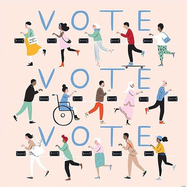 Happy #nationalvoterregistrationday! 🇺🇸🗳 🇺🇸 This is your friendly reminder to check your registration at badvoter.org. Need to update your info? Great! You can now do so online at the link in our bio. Your final task, in honor of this great day, is to pester your coworkers, friends, family, neighbors, and complete strangers to check their registration, too! #november6th #midtermsarecoming #womenleadok
