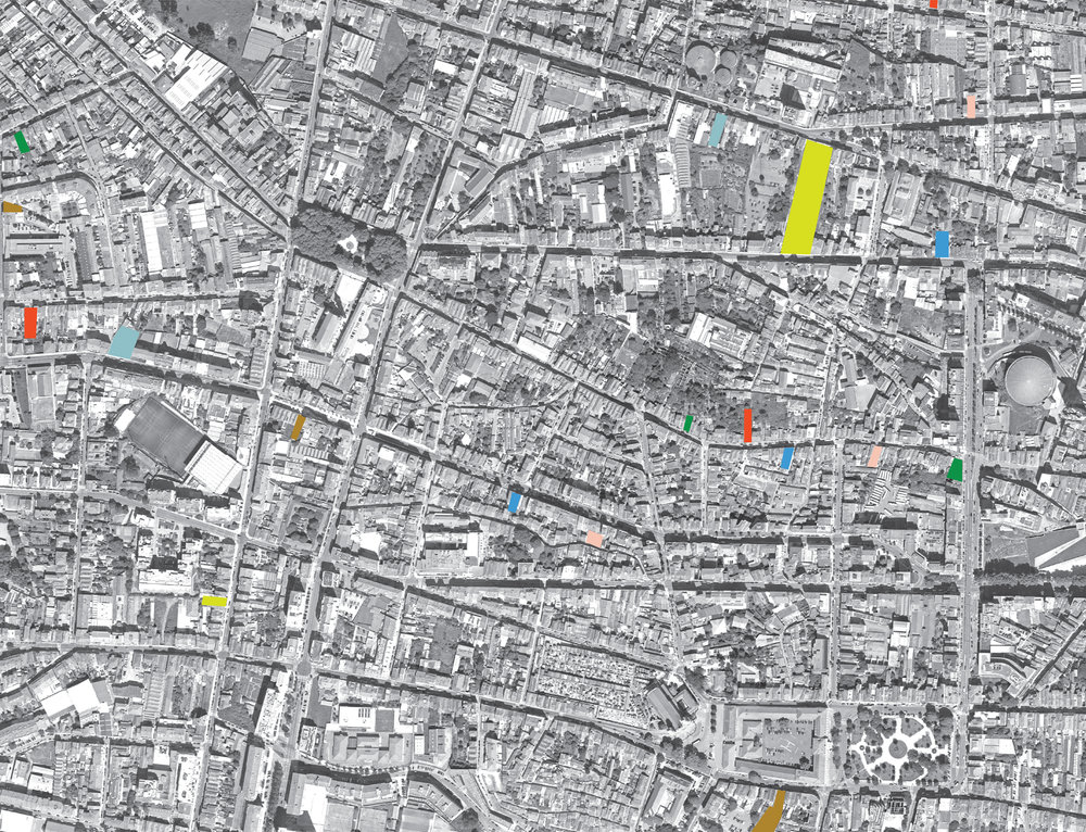 urban mapping of vacant plots in Porto