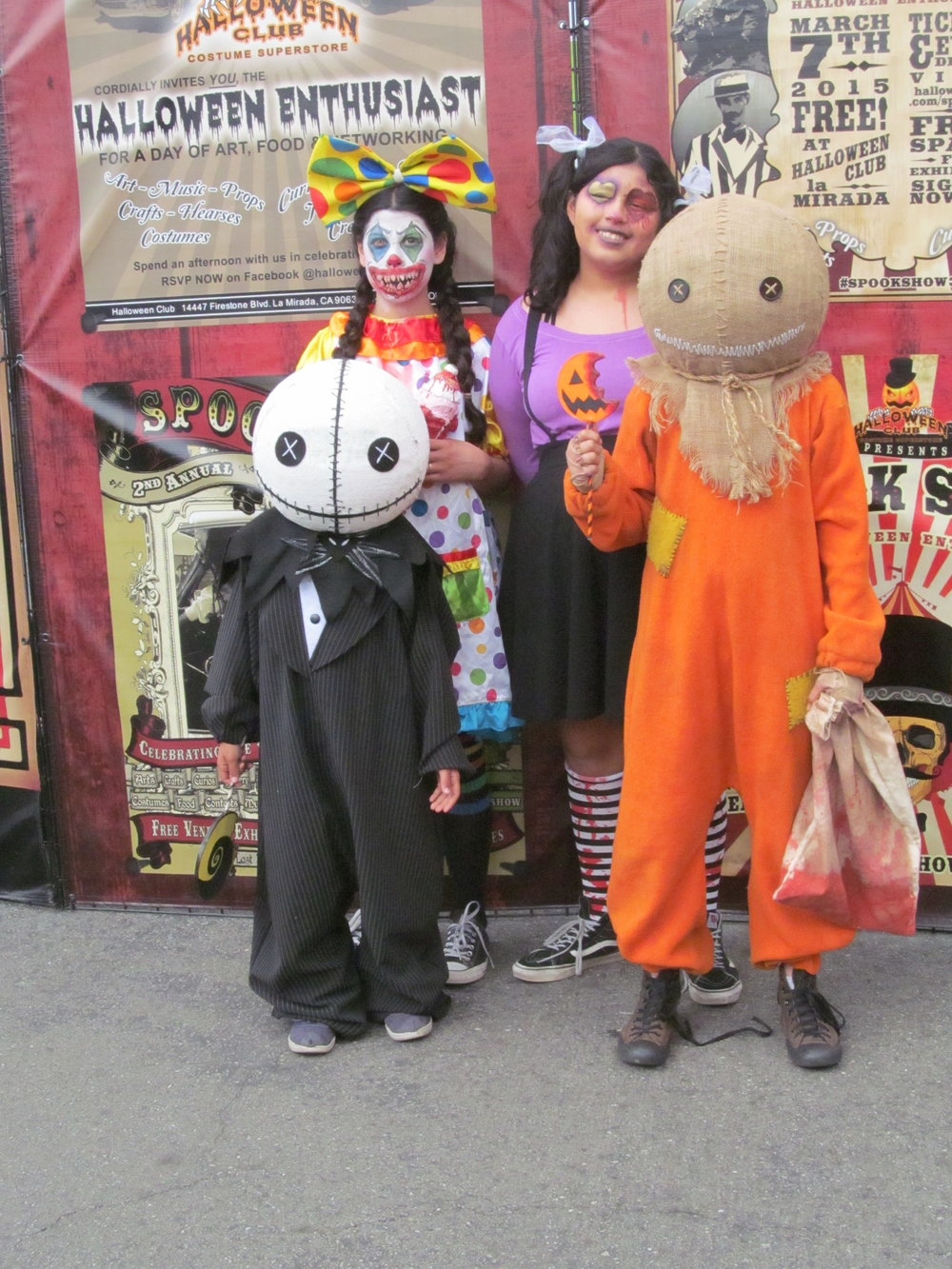Kids In Horror Themed Cosplay