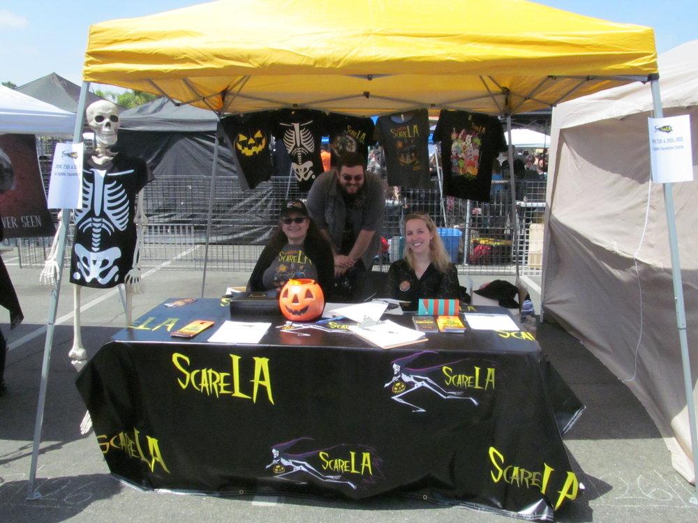 ScareLA Booth