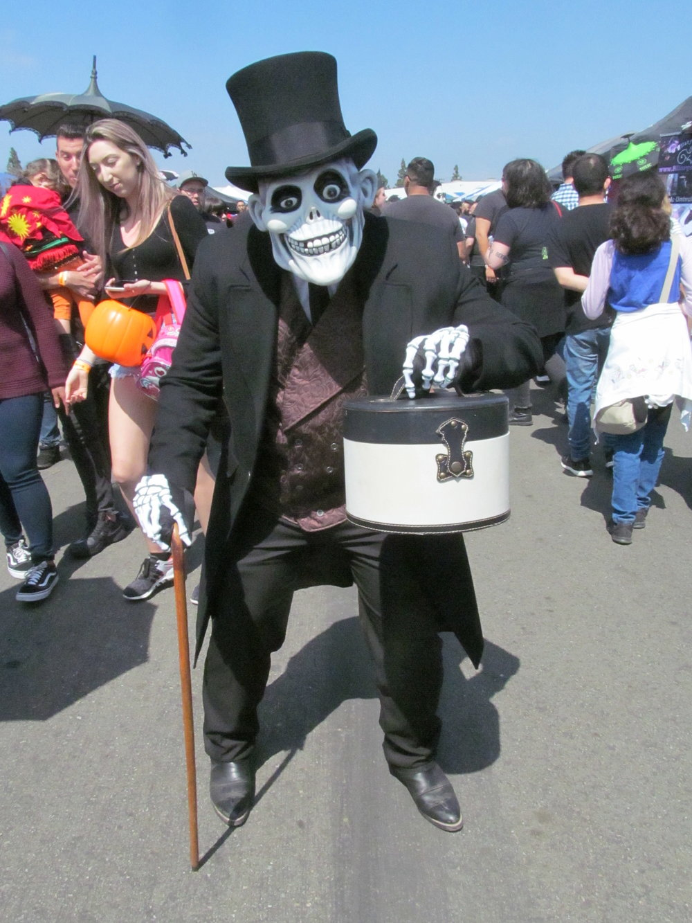 Hatbox Ghost from The Haunted Mansion