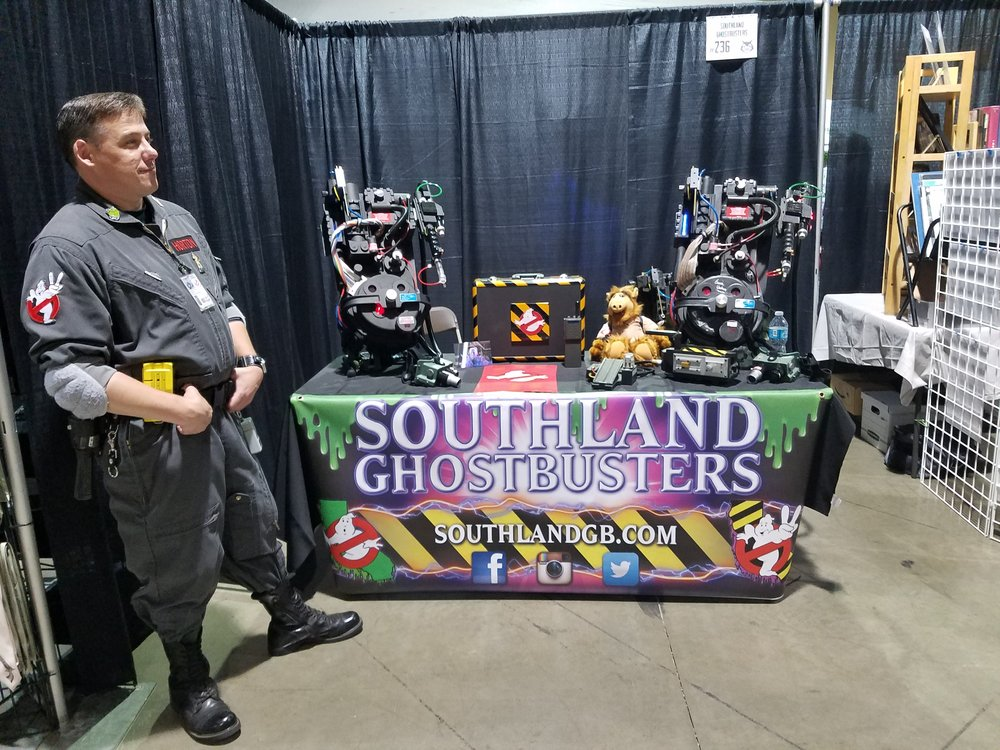 Southland Ghostbuters Booth