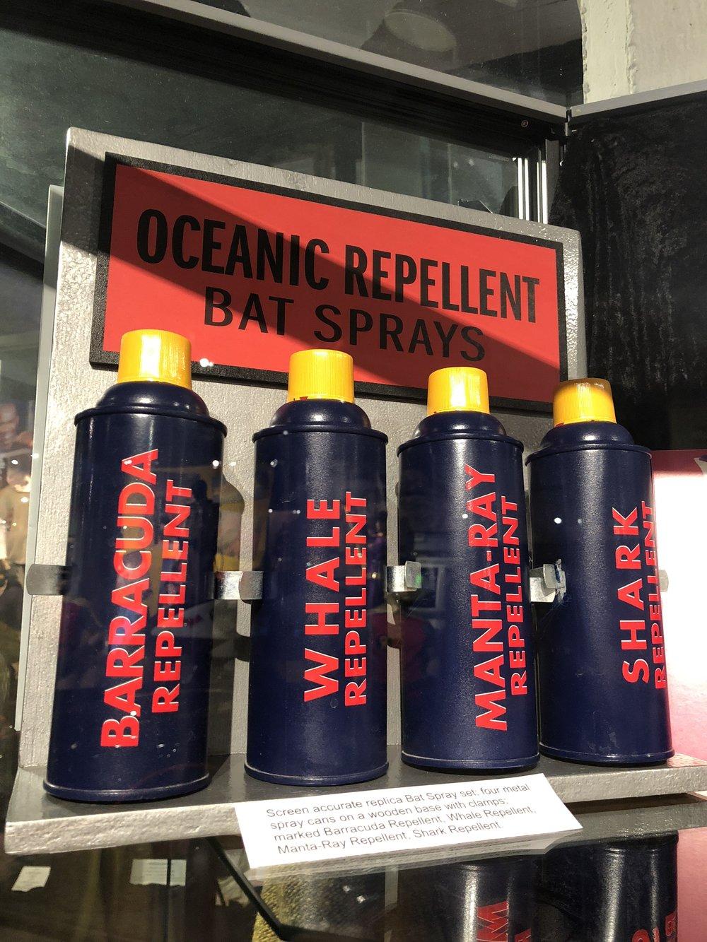 Oceanic Repellent Props