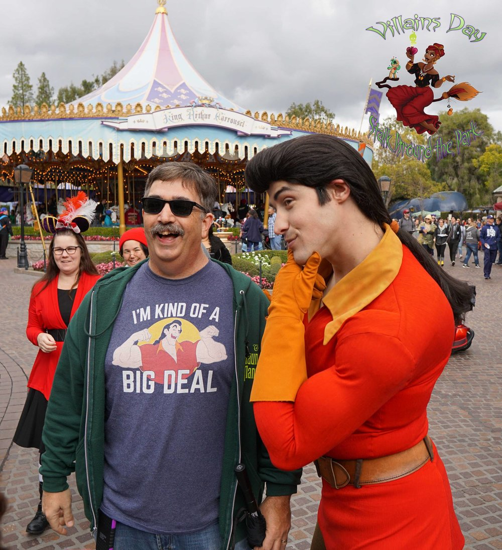No One Matches Wits like Gaston