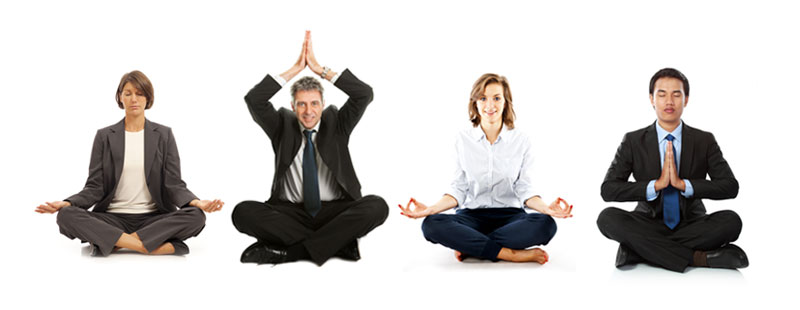 Yoga & Meditation - At the office or company meeting