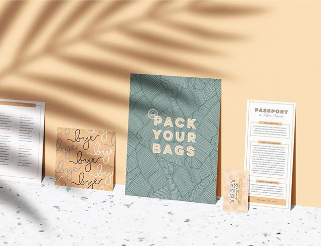 Scott and I are ordering backpacks for our upcoming, two-week-trip to Europe. As soon as they get here I plan on doing a test run to see how much shiznit I can fit into them. A little nervy about it! If you have any insider tips, send them them my way pretty please! #newb - Brand Design for @passporttofriday a luxury travel advisory and lifestyle brand crafted by Chelsea Martin, a gal who spends at least 3/4 of her year traveling the globe! Her page is serious inspo - go have yourself a looksie!