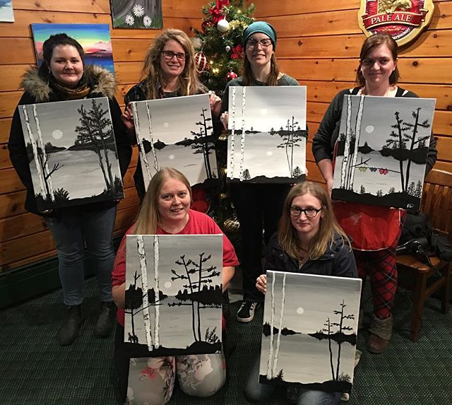 Off season painting fun! Thanks for your support!!