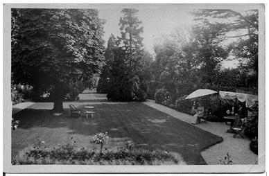 Garden of Havelock House, Twickenham