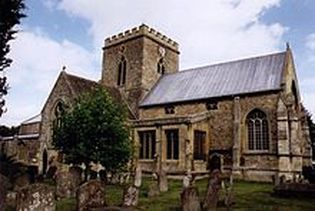 St Peter and St Paul, Wantage.  Copyright Michael Ford