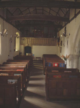 Interior of St Mary the Virgin, Ipsden