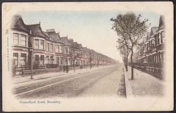 Comerford Road, Brockley, in 1905