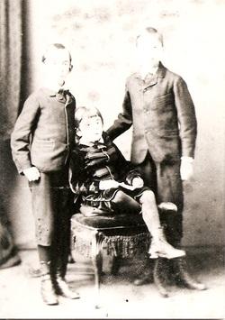 Winney boys (l-r):  Albert Edward, Sydney George & Walter Henry Winney