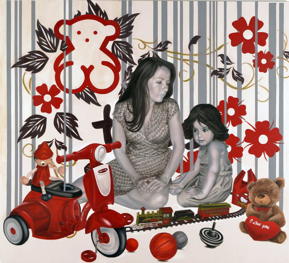 7.My Daughter and Her Mother, 180x160cm, oil on canvas-2-1..jpg