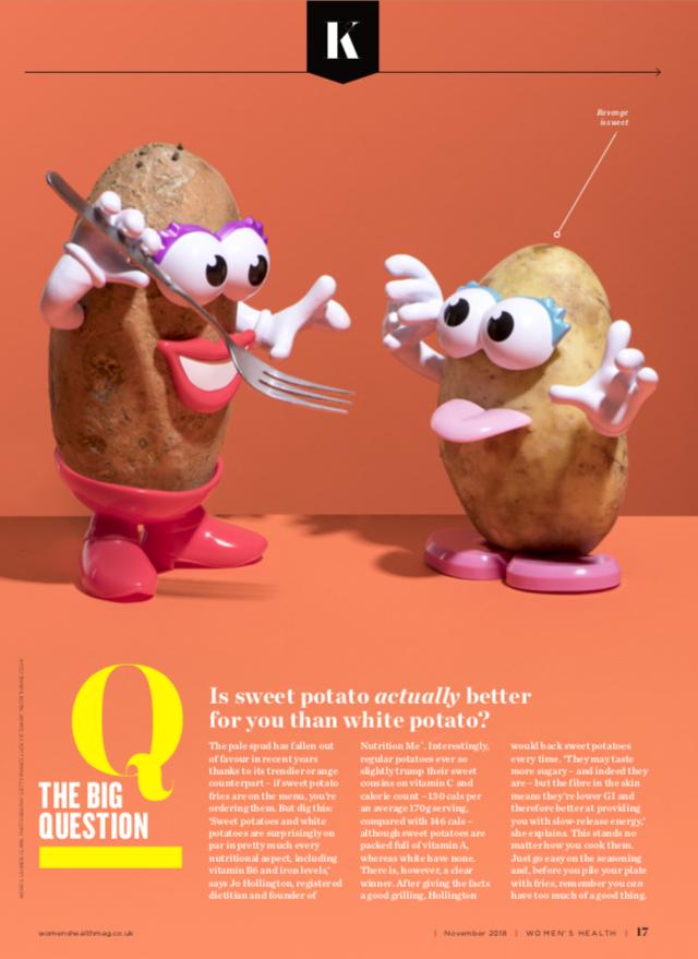 Womens Health - Sweet Potato vs. White Potato
