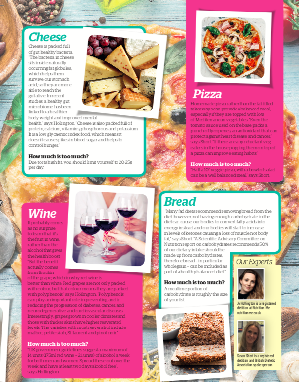 Healthy Diet Magazine - Food we 'think' is bad for us