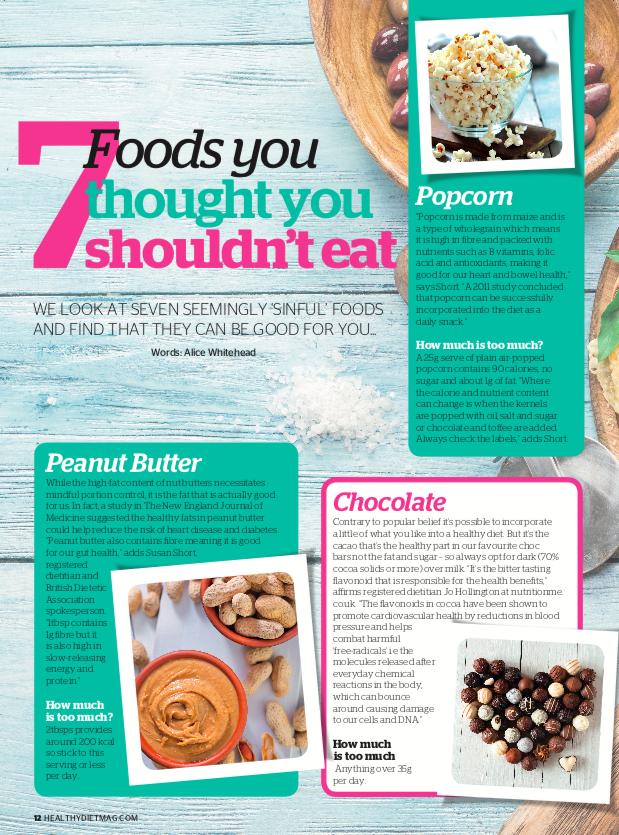 Healhy Diet Magazine - 7 Foods you shouldn't eat