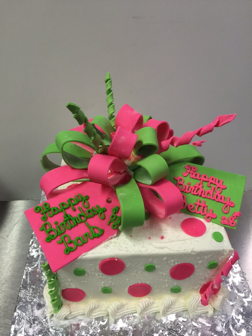 Pink and Green Bow.JPG