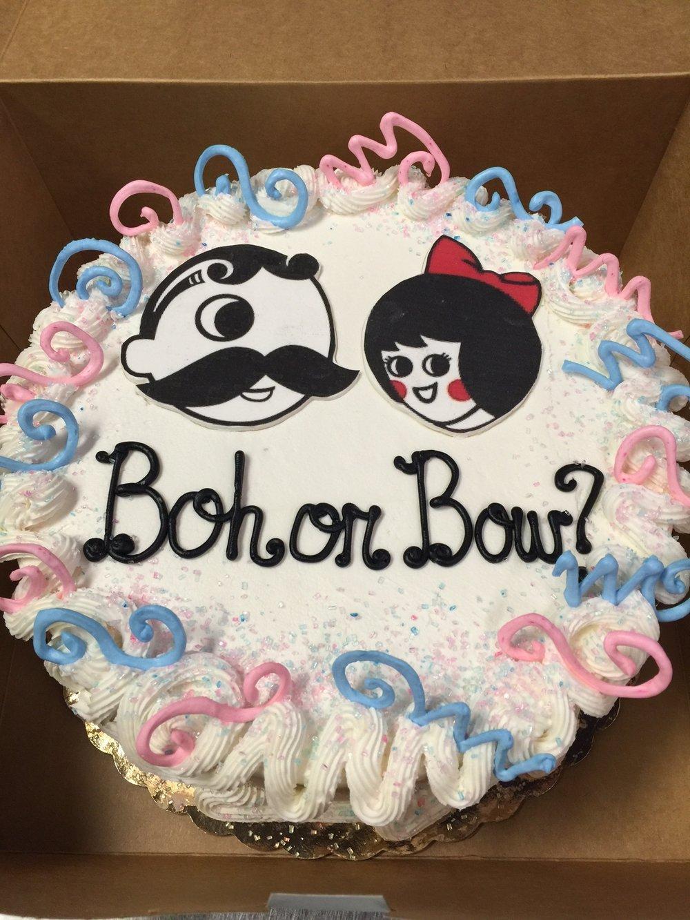 Natty Boh Baby Shower Cake