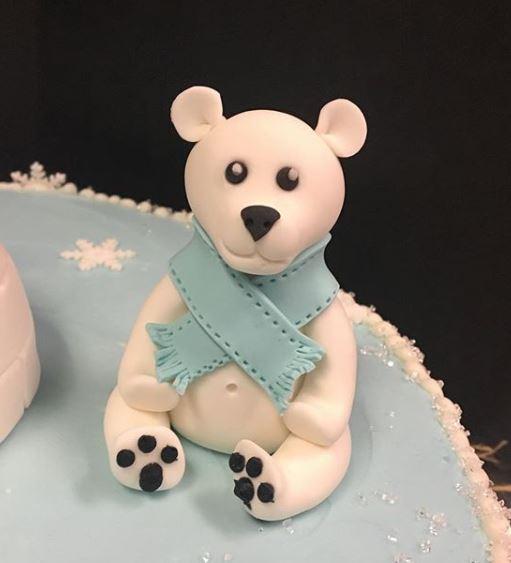 Fondant Polar Bear