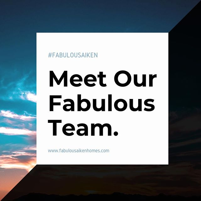 It doesn't take long for Aiken to feel like home thanks to its unique #charm and warm community. Our team here at Fabulous Aiken Homes is dedicated to helping you build your life in your new, wonderful city of #Aiken!  #fabulousaikenhomes  Meet the team: http://ow.ly/Fok450nBf95
