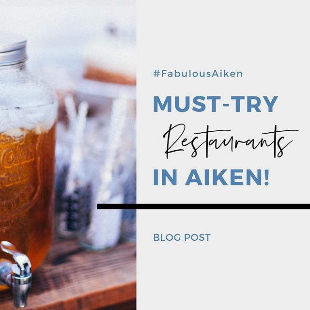 With spring in the air, it's time to get out and try something new! Check out our blog for the latest must-try restaurants here in Aiken. Link in bio. #FabulousAikenHomes #Southcarolina #Aiken #spring #foodie #restaurants