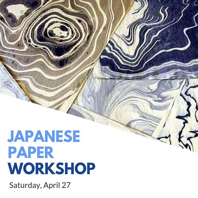 Let's get crafty this weekend! Christina Laurel will be teaching an introductory class to japanese papers and the art of marbling. Participants will leave witha their own mat decorated with Suminagashi marbling. Join this Saturday, April 27th from 10 AM - 1:30 PM for a fee.  Register here: http://aikencenterforthearts.org/education-for-adults-classes/ #Artsy #JapaneseArt #Aiken