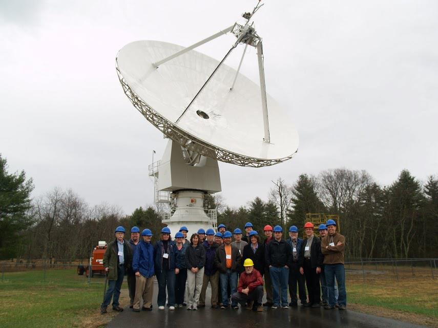 Attendees of the first  workshop  for science and education with Skynet.