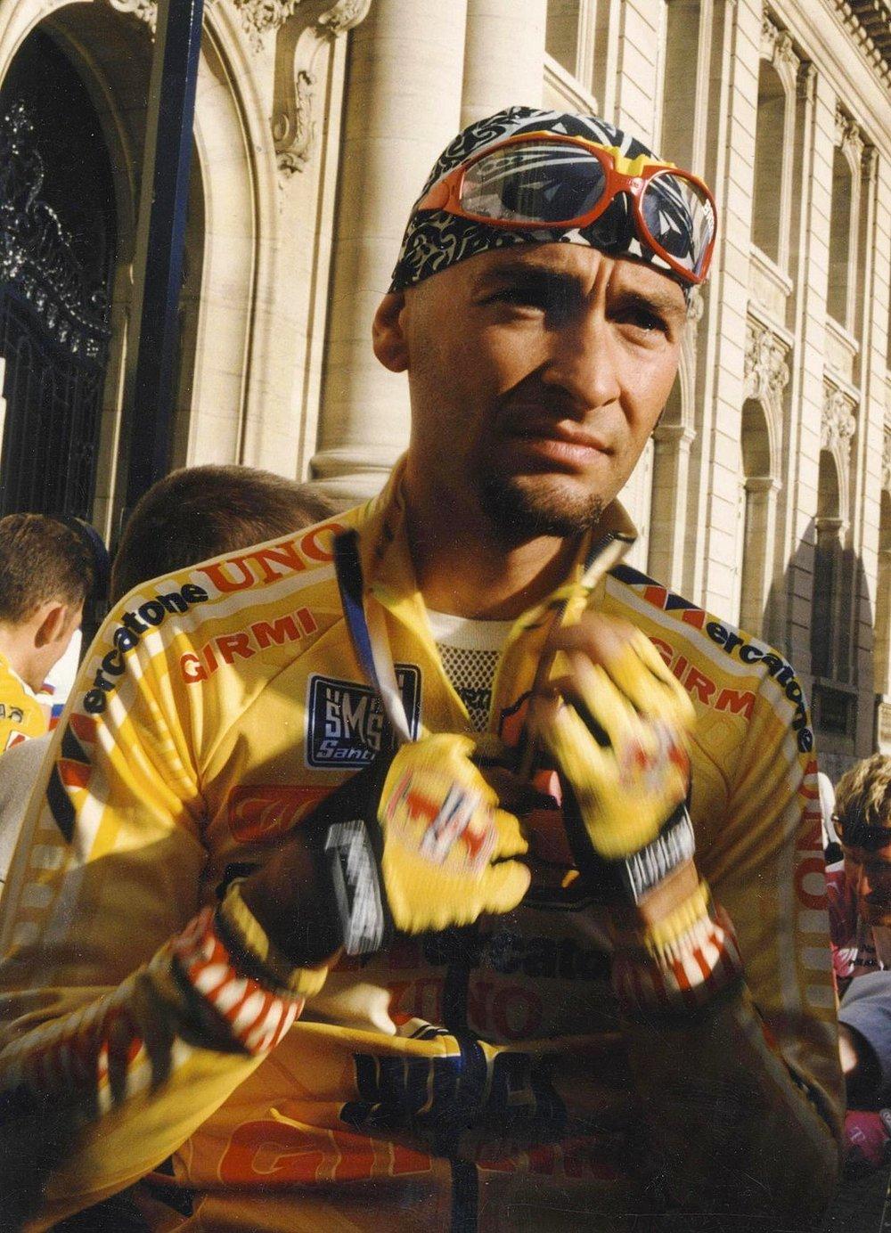 Marco Pantani 1997 (Foto: Aldo Bolzan, Wikimedia, CC BY-SA 3.0)