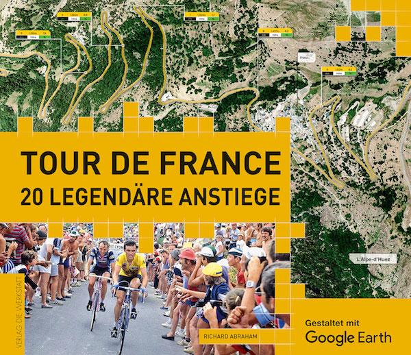 - Richard Abraham: Tour de France. 20 legendäre Anstiege, 224 Seiten, Hardcover, Verlag Die Werkstatt, 34,90 Euro, ISBN 978-3-7307-0259-8.