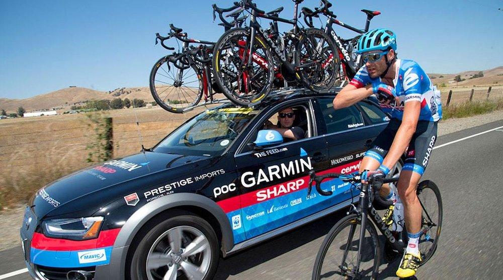 Für Garmin-Sharp fuhr Phil Gaimon in der World Tour mit – meist als Domestik.