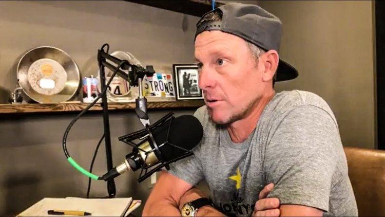 Vom Tour de France-Seriensieger zum Podcaster: Lance Armstrong.