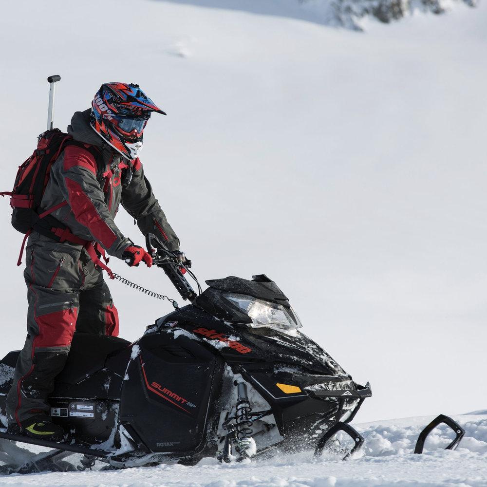 No Snowmobiling -