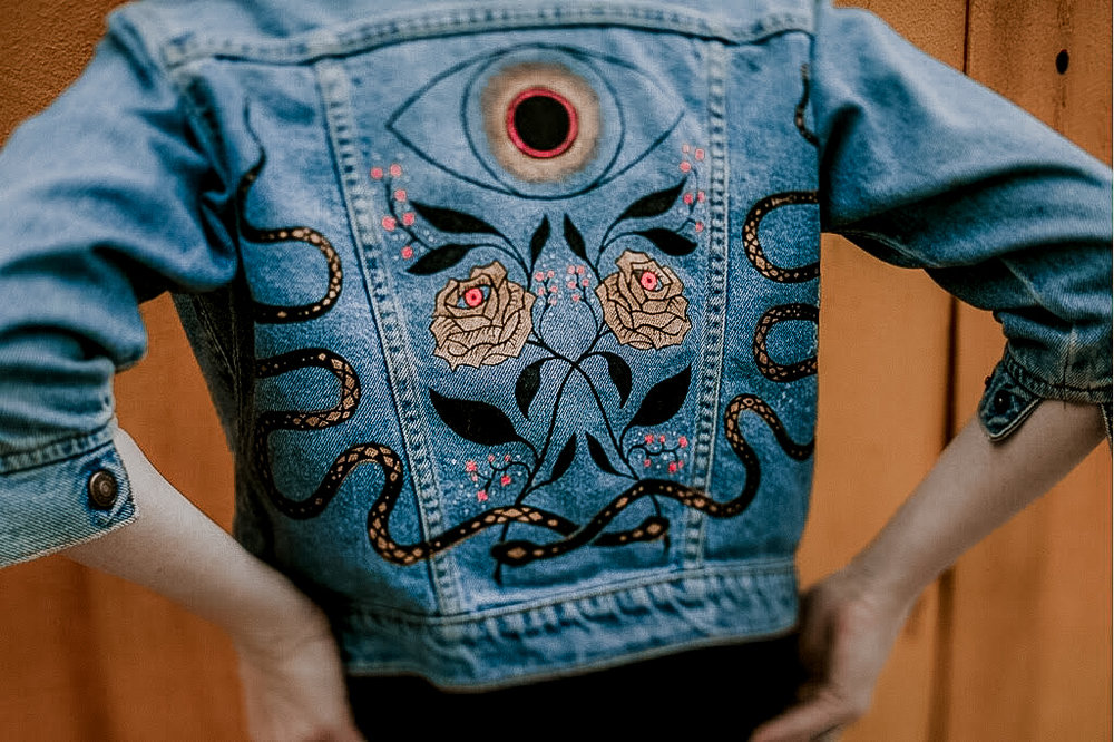 CUSTOM - Commission one-of-a-kind jackets, bags and wall hangings, home goods and more