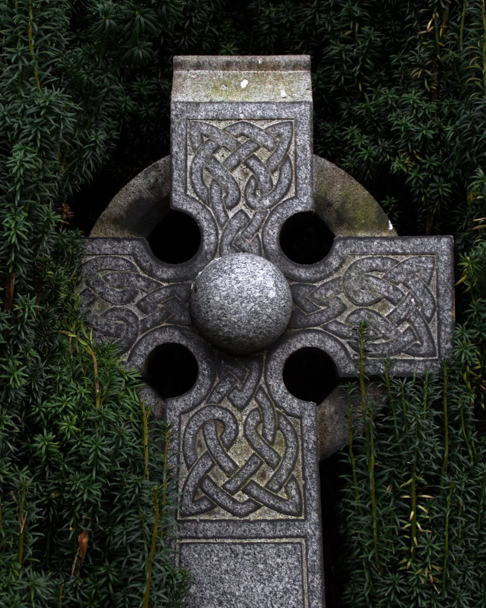 Celtic Cross - · This is a symbol of faith for all Celts. It appears as a decorative element on large standing stone crosses and in the Book of Kells. This symbol combines the traditional Christian cross with a ring through the cross's intersection. It is also referred to as the High Cross, the Irish Cross and the Cross of Iona.