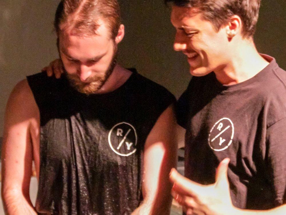 Get water baptised -
