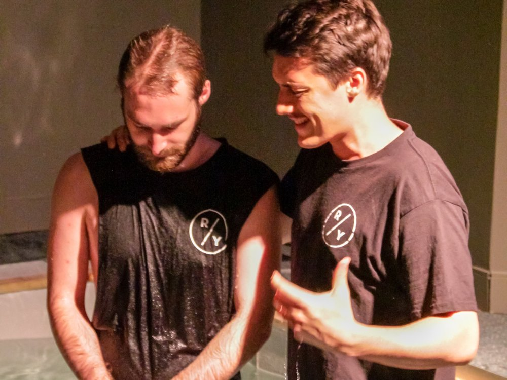 Get Water Baptised - Are you ready to take the next step?