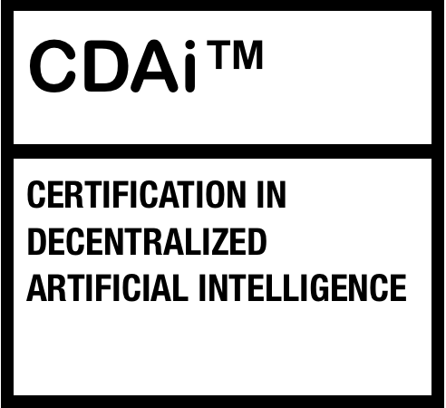 Certification in Decentralized Artificial Intelligence