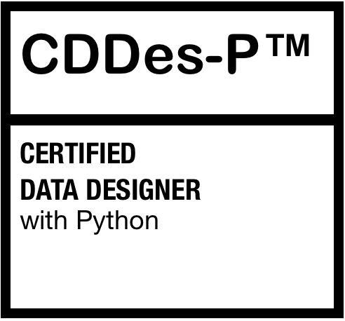Certified Data Designer with Python