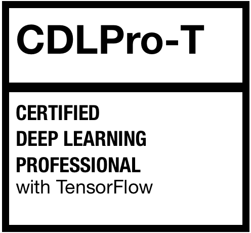 Certified Deep Learning Professional with tensorflow