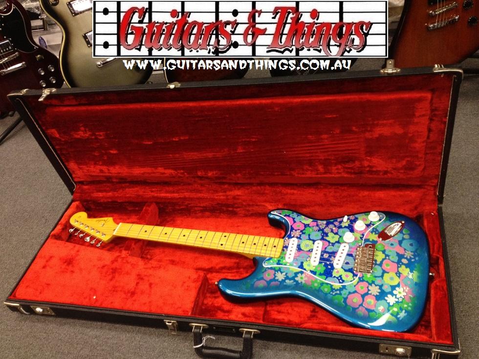 Fender Flower Paisley Strat