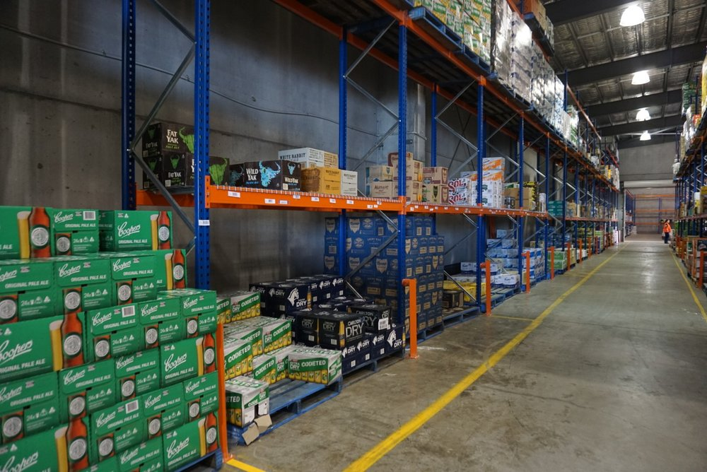 WAREHOUSE - We are based in a modern facility in Cameron Park NSW- 3,500 sq/m of warehouse space- Fully Airconditioned with additional 200 sq/m of cool room- 700sq/m of awning to receive and ship in all weather conditions