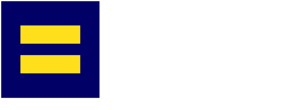 The Human Rights Campaign - H White Logo - HRC Utah